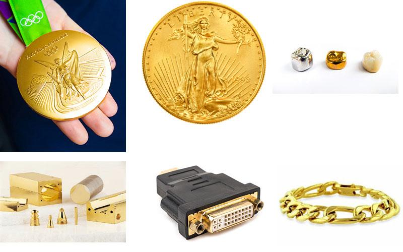 Top 6 ứng dụng thường sử dụng vàng