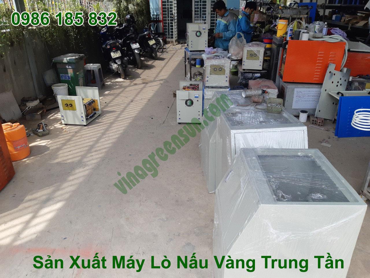 Sản xuất máy nấu vàng trung tần
